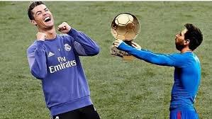 Meme Messi - ronaldo menangi ballon d or messi dapat meme meme kocak