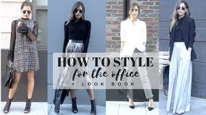 work attire how to style work wear office attire look book