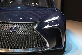 lexus lf fc next gen lexus ls sedan to debut at detroit auto show photo
