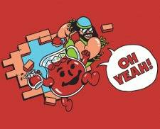Kool Aid Oh Yeah Meme - kool aid man macho man randy savage oh yeah t shirt from busted tees