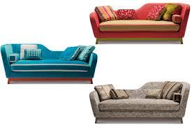 divanetti design divano letto design in tessuto e velluto jeremie