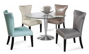 Glass Dining Table Chairs Wonderful Stainless Modern Dining Glass Dining Table Chairs