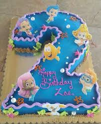 Cheerful Bubble Guppies Party Ideas With A Pretty Ombre Under The