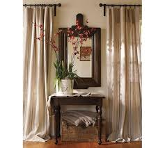 Drapery Fabrics Gorgeous Living Room Drapes And Curtains Using Striped Linen