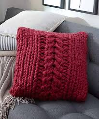 2 home decor patterns to knit using red heart boutique