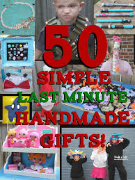 doodlecraft 50 simple last minute handmade christmas gifts