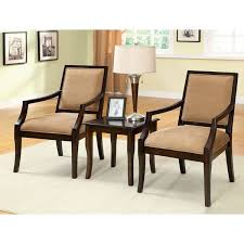 3 piece table and chair set elegant accent chair and table set furniture of america frieda 3