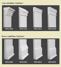 Modern Baseboard Molding Ideas Types Of Baseboard Molding Base Moulding Ideas Diy Pinterest