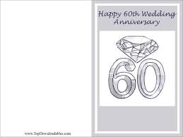 60th wedding anniversary wishes free printables 60th wedding anniversary wording