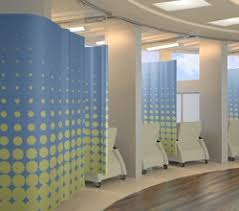 cubicle hospital curtains u2013 commercial drapes and blinds