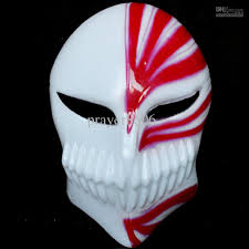 rabbit mask halloween the god of death mask halloween masquerade lchigo kurosaki cartoon