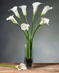 silk calla lilies medium calla silk flower stems for casual decorating at petals