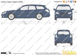 subaru van 2010 the blueprints com vector drawing subaru legacy wagon