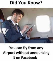 did you know this about flying meme
