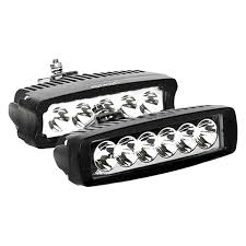 Led Driving Lights Automotive Ipcw Bottom Mount Rectangular Flood Beam Led Driving Light