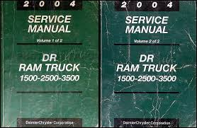 1999 dodge ram service manual 2004 dodge dr ram truck wiring diagram manual original