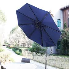 Battery Operated Umbrella String Lights by Decorations Lighted Patio Umbrella Oversized Umbrella Solar
