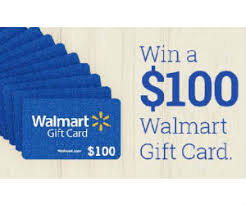 how to win gift cards win 1 of 100 100 walmart gift cards free sweepstakes contests
