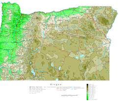 map of oregon state oregon map maps of oregon state