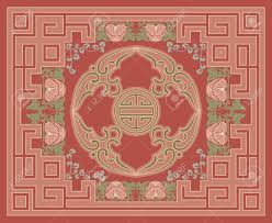 Chinese Design by Ornamental Rug Design Royalty Free Cliparts Vectors And Stock