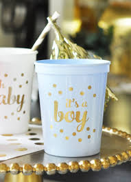 Blue And Gold Baby Shower Decorations by Its A Boy Baby Shower Decorations For Boy Blue Baby Shower Cups