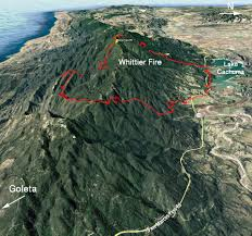 Usfs Fire Map Weather Shift Brings Greater Containment To Whittier Fire
