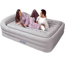 eddie bauer full size inflatable bed w battery operated pump