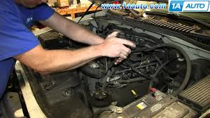 how to install replace thermostat housing 2002 05 4 6l v8 explorer