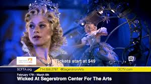 Segerstrom Wicked At Segerstrom Center For The Arts Youtube