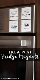 ikea puns funny ikea magnets bloggers pinterest magnets and craft