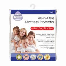 Dust Mite Crib Mattress Cover by Serta Smart Defense Overfilled Mattress Pad Full Walmart Com