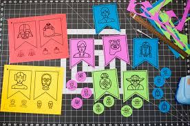 printable birthday decorations free star wars party decorations printable birthday banner in