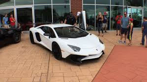 first lamborghini this is the first lamborghini aventador sv to be delivered to a