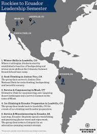 Joshua Tree California Map 81 Day Rockies To Ecuador Leadership Semester