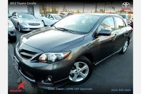 best price on toyota corolla used 2012 toyota corolla for sale pricing features edmunds