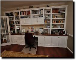 Built In Office Desk Built In Office Cabinets Wall Units Extarordinary Home Office Wall