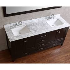 solid wood bathroom cabinet buy vincent 72 inch solid wood double bathroom vanity in espresso hm