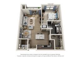Two Bedroom Apartments In Atlanta Overture Lindbergh Rentals Atlanta Ga Apartments Com