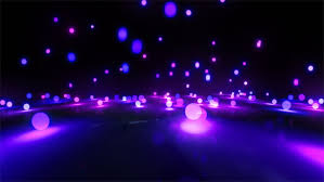 theme lighting colorful light balls background can be use for any fashion and
