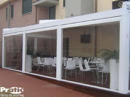 verande in plastica chiusure per esterni per verande terrazzi balconi porticati bar
