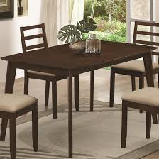 kitchen ideas mulligan dining table with hidden pull out drawers