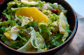 Salad Thanksgiving Shredded Brussel Sprout And Quinoa Salad