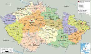 New York Political Map by Czech Republic U2013 World Map Weltkarte Peta Dunia Mapa Del Mundo