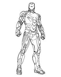 ironman coloring pictures coloring