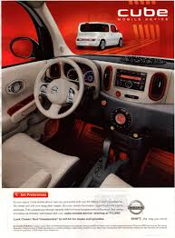 cube cars interior cars an ad a day