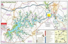 cumberland lake map fox estates lake cumberland kentucky