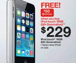 target ad black friday 2014 16gb ipod touch 5th gen for 229 is target black friday special