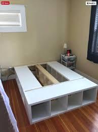 ikea kallax headboard bookcase ikea bookcase bed ikea shelves bedroom ikea kallax queen