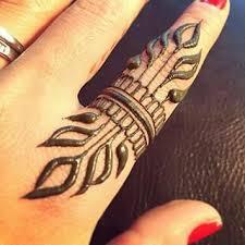 easy finger henna u2026 pinteres u2026