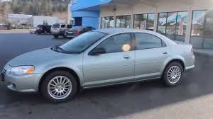 2006 chrysler sebring satin jade pearl stock b2848b walk